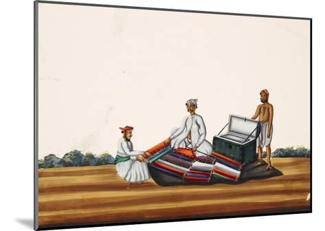 A Madras Hawker, from Thanjavur, India--Mounted Giclee Print