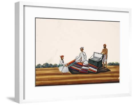 A Madras Hawker, from Thanjavur, India--Framed Art Print
