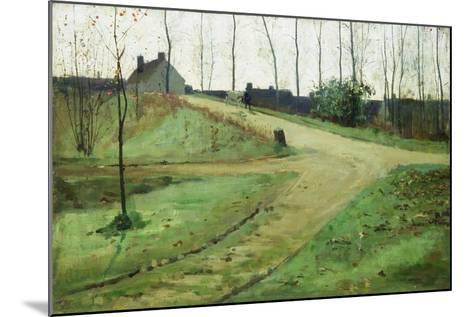 An October Morning-William Stott-Mounted Giclee Print