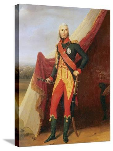 Marshal Bessieres--Stretched Canvas Print