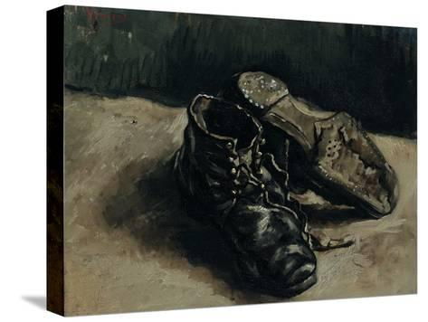 A Pair of Shoes, 1886-Vincent van Gogh-Stretched Canvas Print