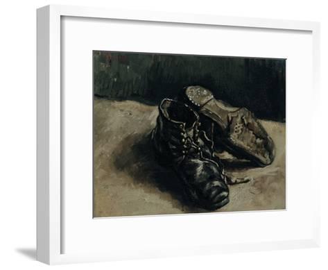 A Pair of Shoes, 1886-Vincent van Gogh-Framed Art Print