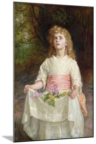 Lilacs, 1885-John Everett Millais-Mounted Giclee Print