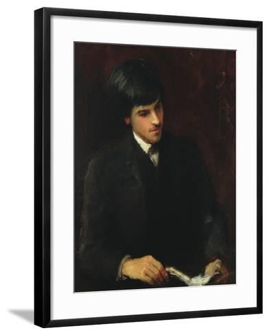 William Butler Yeats, 1886-John Butler Yeats-Framed Art Print