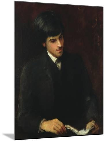 William Butler Yeats, 1886-John Butler Yeats-Mounted Giclee Print