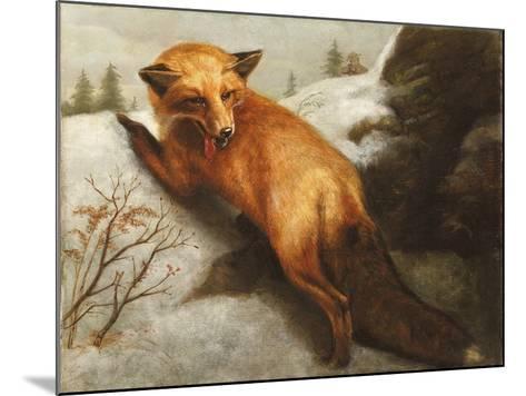 The Red Fox, 1870-Abbott Handerson Thayer-Mounted Giclee Print