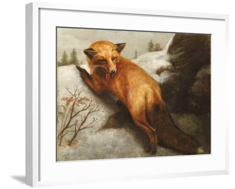 The Red Fox, 1870-Abbott Handerson Thayer-Framed Art Print