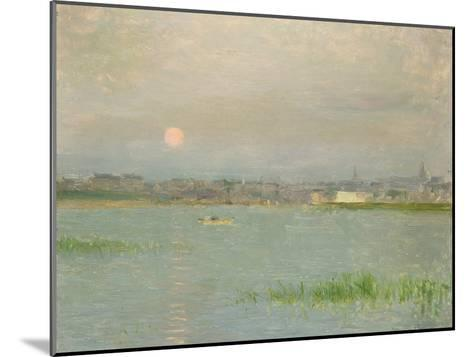 Rising Moon, Galway Harbour-Walter Frederick Osborne-Mounted Giclee Print