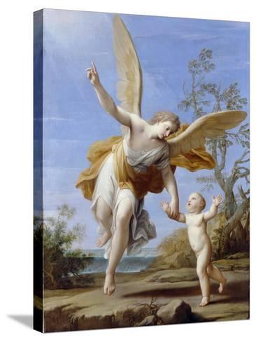 The Guardian Angel, 1716-Marco Antonio Franceschini-Stretched Canvas Print