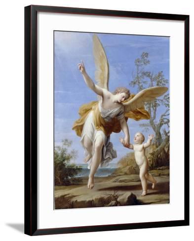 The Guardian Angel, 1716-Marco Antonio Franceschini-Framed Art Print