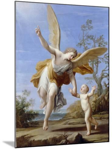 The Guardian Angel, 1716-Marco Antonio Franceschini-Mounted Giclee Print