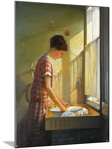 Washing Up, C.1924-25-Walter Bonner Gash-Mounted Giclee Print