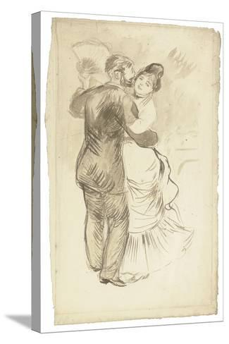 Study for 'Countryside Dance', 1883-Pierre-Auguste Renoir-Stretched Canvas Print