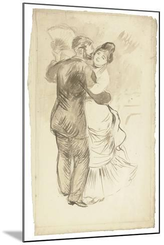 Study for 'Countryside Dance', 1883-Pierre-Auguste Renoir-Mounted Giclee Print