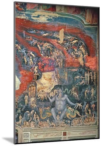 The Last Judgement, Detail of Hell, 1303-05-Giotto di Bondone-Mounted Giclee Print