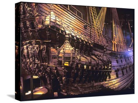 Vasa Warship--Stretched Canvas Print