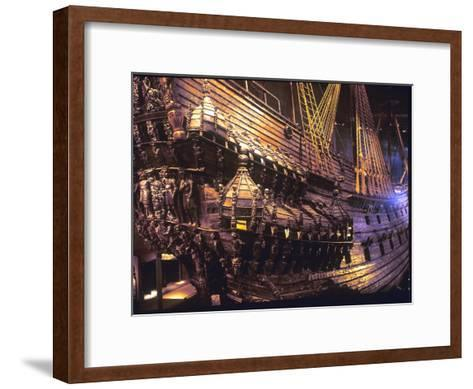 Vasa Warship--Framed Art Print
