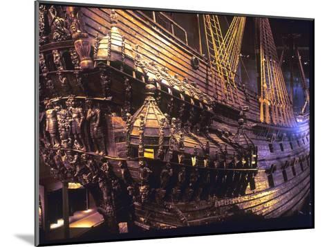 Vasa Warship--Mounted Giclee Print