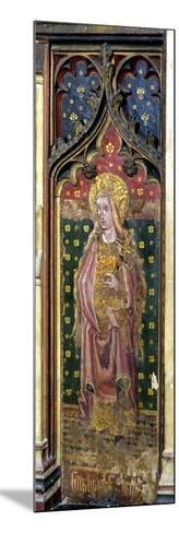 St. Helena, Detail of the Rood Screen, St. Agnes Church, Cawston, Norfolk, Uk--Mounted Giclee Print