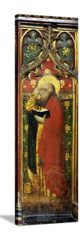 St. Matthew, Detail of the Rood Screen, St. Agnes Church, Cawston, Norfolk, Uk--Stretched Canvas Print