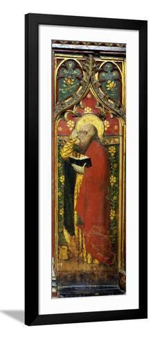 St. Matthew, Detail of the Rood Screen, St. Agnes Church, Cawston, Norfolk, Uk--Framed Art Print