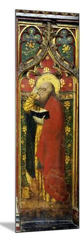 St. Matthew, Detail of the Rood Screen, St. Agnes Church, Cawston, Norfolk, Uk--Mounted Giclee Print