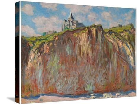 Church at Varengeville, Morning Effect, 1882-Claude Monet-Stretched Canvas Print