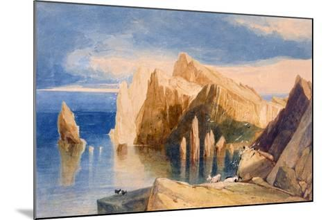 Cliffs on the North East Side of Point Lorenzo, Madeira-John Sell Cotman-Mounted Giclee Print
