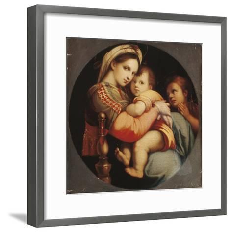 Madonna Della Sedia-Raphael-Framed Art Print