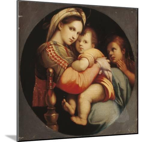 Madonna Della Sedia-Raphael-Mounted Giclee Print