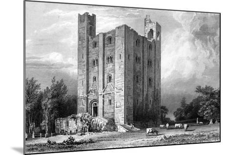 Hedingham Castle, Essex, Engraved by John Carr Armytage, 1832-William Henry Bartlett-Mounted Giclee Print