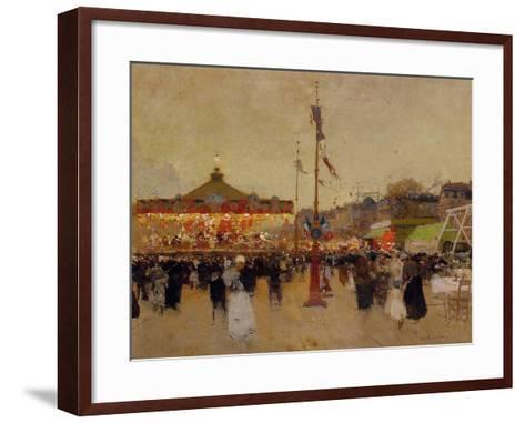 At the Fair-Luigi Loir-Framed Art Print