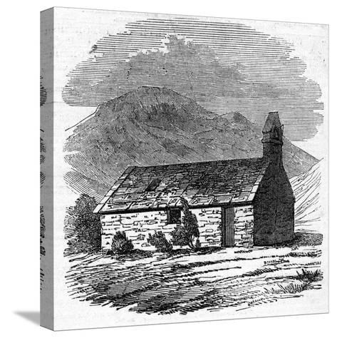 Chapel at Wastdale Head, Cumberland--Stretched Canvas Print