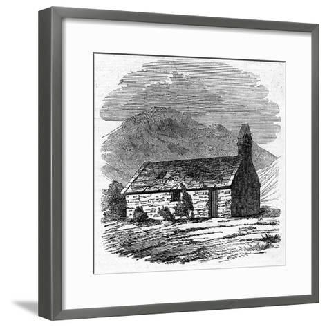 Chapel at Wastdale Head, Cumberland--Framed Art Print
