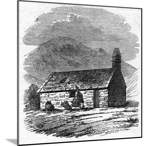 Chapel at Wastdale Head, Cumberland--Mounted Giclee Print