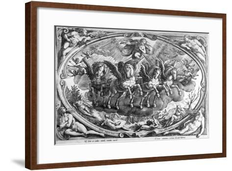 The Four Seasons, Engraved by Philip Galle, C.1580-Jan van der Straet-Framed Art Print