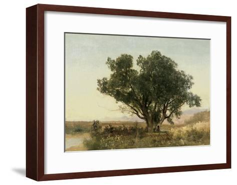 The Front Range, Colorado-John Frederick Kensett-Framed Art Print