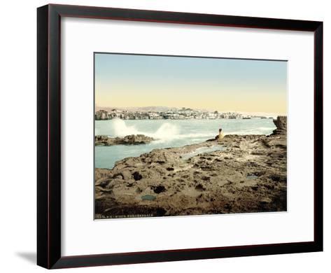 View of Sidon, C.1880-1900--Framed Art Print
