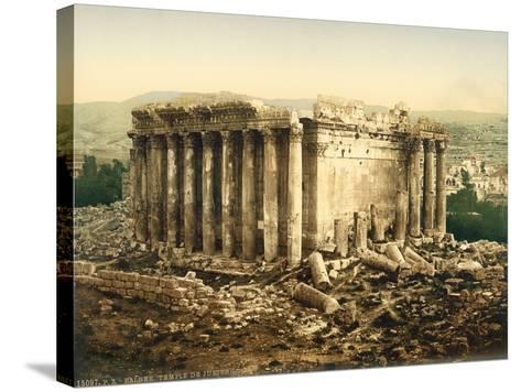 Temple of Bacchus, Baalbek, C.1880-1900--Stretched Canvas Print