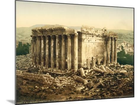 Temple of Bacchus, Baalbek, C.1880-1900--Mounted Photographic Print