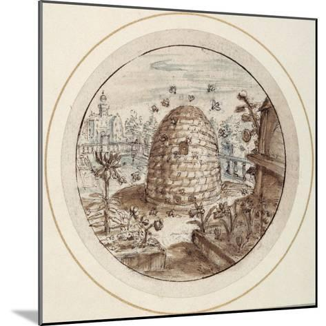 Beehive, Early 17th Century-Crispin I De Passe-Mounted Giclee Print
