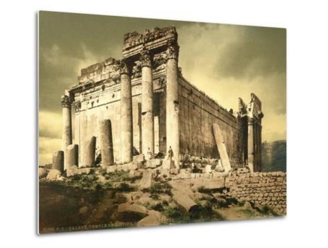 Temple of Bacchus, Baalbek, C.1880-1900--Metal Print