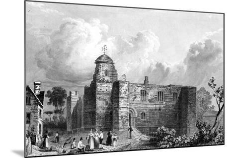 Colchester Castle, Essex, Engraved by John Carr Armytage, 1832-William Henry Bartlett-Mounted Giclee Print