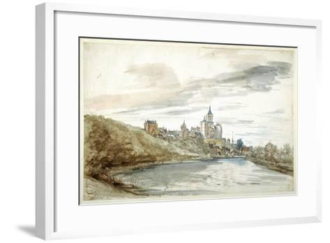View of Cleves, Late 17th Century--Framed Art Print