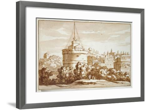 Castello St Angelo, 1688-Jacob van der Ulft-Framed Art Print