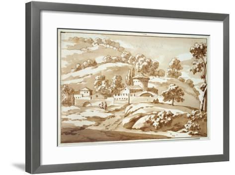 Buyten Friscato, 1688-Jacob van der Ulft-Framed Art Print