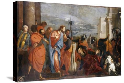 The Centurion of Capernaum, C.1570-Paolo Veronese-Stretched Canvas Print