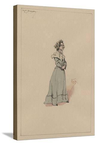 Mrs Snagsby, C.1920s-Joseph Clayton Clarke-Stretched Canvas Print