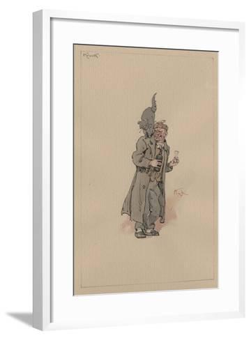 Krook, C.1920s-Joseph Clayton Clarke-Framed Art Print