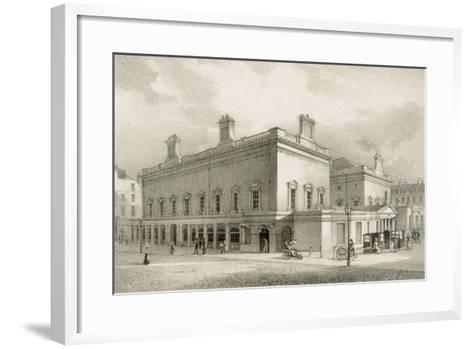 Assembly Rooms, Bath, C.1883-R. Woodroffe-Framed Art Print